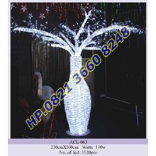 Lampu Hias Natal 3D Tipe ACL-063