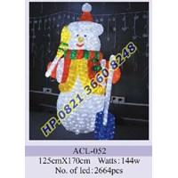 Jual Lampu Hias Natal 3D Tipe ACL-052
