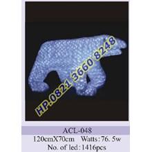 Lampu Hias Natal 3D Tipe ACL-048