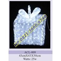 Jual Lampu Hias Natal 3D Tipe ACL-009