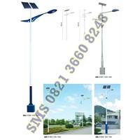 Jual Tiang Lampu PJU Solar Cell AA41301-41304 Murah Bergaransi