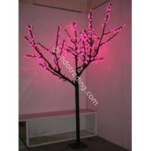 Lampu Hias Motif Bunga Sakura Pink