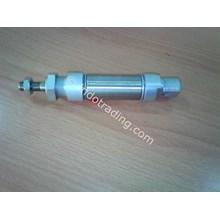 Pneumatic Cylinder Damp Roller 25 Atau 25