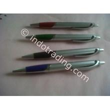 Souvenir Pulpen Promosi Bp-35 Silver Stone Pen