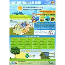 PAKET SIAP PAKAI (SOLAR HOME) 50P50