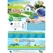 PAKET SOLAR HOME SYSTEM (SHS) 300 WP