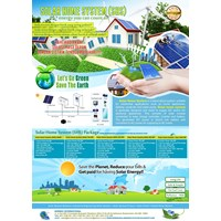 Jual PAKET SOLAR HOME SYSTEM (SHS) 500WP