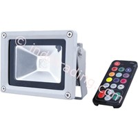 Lampu Sorot LED RGB Ac 220V 50W Color Tgd-006 Deng