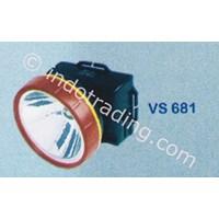 Jual Senter Kepala Visalux 1 Led Tipe Vs 681