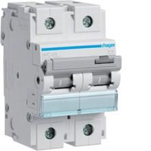 MCB Hager 1pole 80amper tipe HMC 180 Lampu Hemat Energi