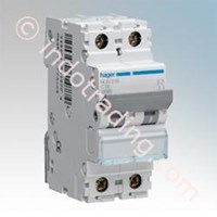 Mcb Hager Double Phase (2Pole) 4.5 Ka 1A Tipe My 201