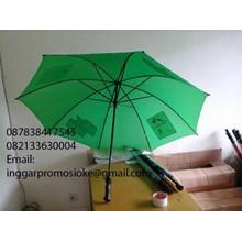 Payung golf bahan hijau
