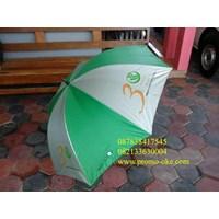 Payung golf promosi warna hijau putih
