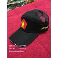 Jual Topi promosi bahan jaring warna hitam