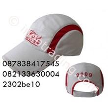Topi Bahan Kanvas Putih