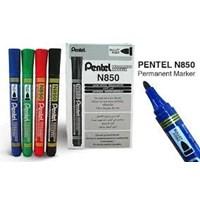 Spidol Pentel Permanent Dan Whiteboard Marker N850