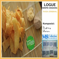 Logue Keripik Singkong [ Classic Rasa Original ]