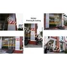 Jual Sticker Printing & Cutting Zip Mart Gedung Basko Group