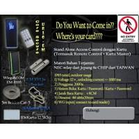Jual Paket Access Control Pintu UR10-EM Dengan Wiegand Out Reader