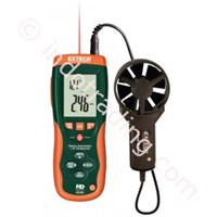 Extech Hd300 Cfm Cmm Thermo Anemometer With Built In Infrared Thermometer