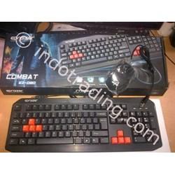 Keyboard & Mouse Epraizer Ez-020 Usb + Usb