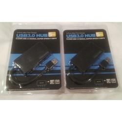 V3H4-301 USB HUB 3.0 4 PORT SLIM BLACK  [an]