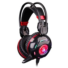 Bloody G300 Combat Gaming Headset (Black+Red)  [an