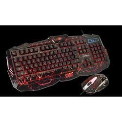 MARVO KEYBOARD KM800L WIRED GAMING+MOUSE  [an]