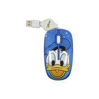 Optical Mouse Retract DISNEY Magical Donald Duck [
