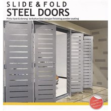 Stell Doors sliding and folding
