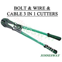 Bolt & Wire & Cable 3 In 1 Cutters P4314 Hand Tools