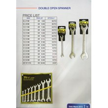 Double Open Spanner