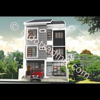 Desain Arsitek Wisma Tipe 1