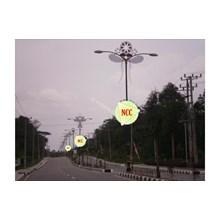 Tiang Lampu Antik Decorative