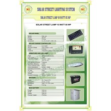 Paket Pju Solar Cel 10 Watt Tenaga Surya.