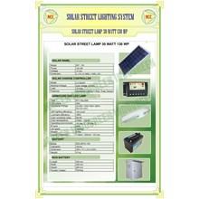 Paket Pju Solar Cell 30 Watt Tenaga Surya
