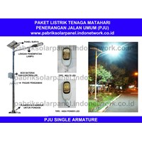 Lampu Penerangan Jalan Ct Pju 10 W (Single Armature)