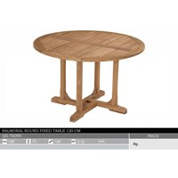 Jual Balmoral Round Fixed Table 120 CM