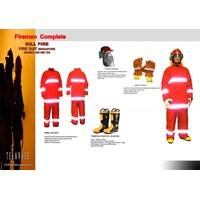 Jual Fireman Complete - Fire Suit Singapore NOMEX AIII AM 124
