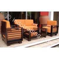 Export Sofa Classic 2 + 1 Seater + Table Indonesia