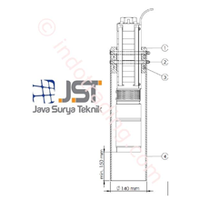 Stilling Tube For C Pump Lorentz