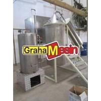 Jual Mesin Destilasi Penyuling Minyak Nilam