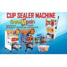 Mesin Cup Sealer Untuk Penutup Cup Pada Minuman