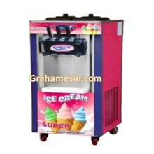 Making ice cream machine soft ice cream