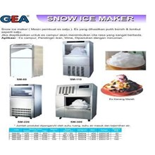 Snow ice makers Advanced  Automatic Ice Machine Snow