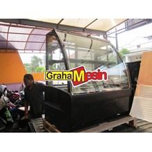 Mesin Penghangat Kue Alat Showcase Kue dan Tart
