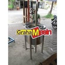 Mesin Pencuci Beras Kapasitas Besar Rice Bean Washer