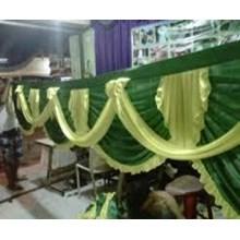 Tenda Dekorasi Pesta Dan Rumbai Rumbai