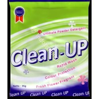 Detergent Flower Powder Merk Clean-Up