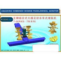 Jual Peralatan Perikanan Kincir Air tambak udang Crown Aqua